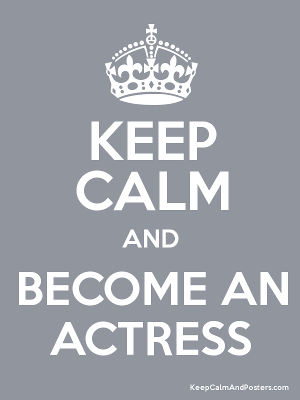 Become an actress for free