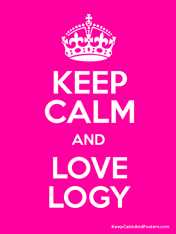 KEEP CALM AND LOVE LOGY Poster