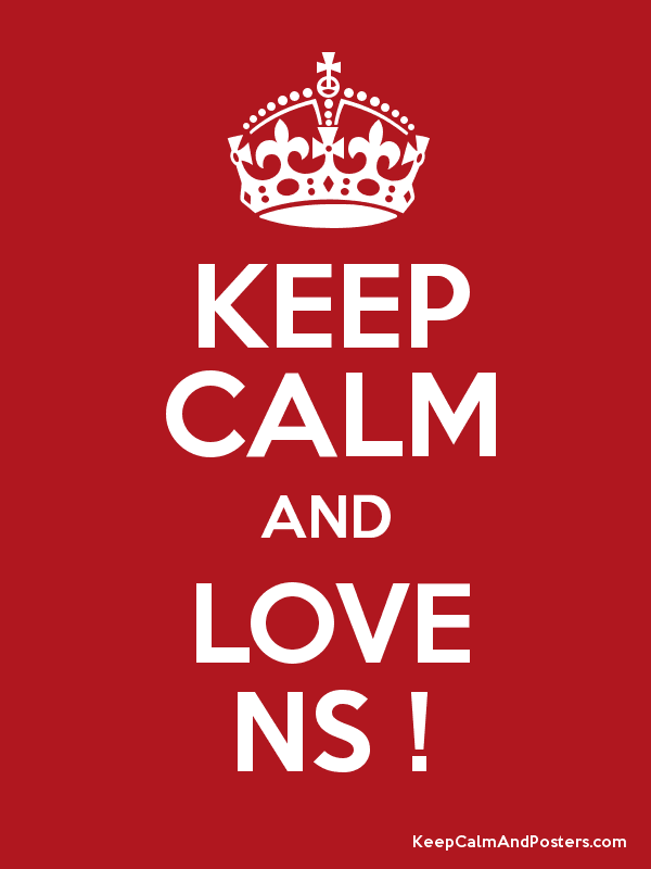Keep Calm And Love Ns Keep Calm And Posters Generator Maker For