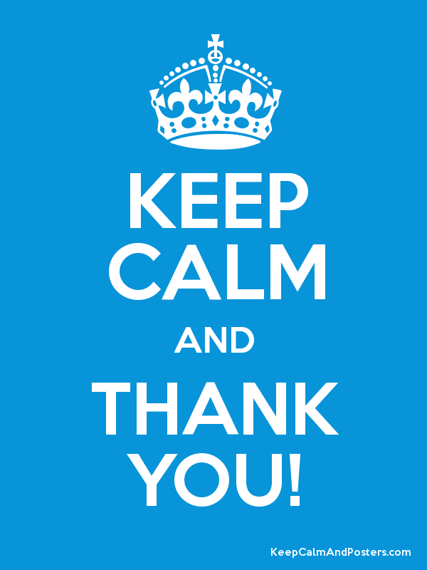 keep calm and thank you keep calm and posters generator maker