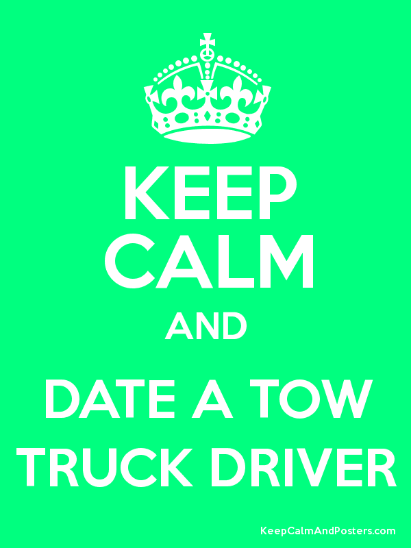 Tow truck driver dating