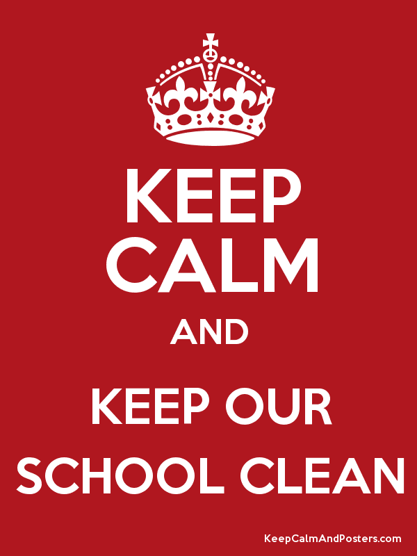 keep the school clean essay