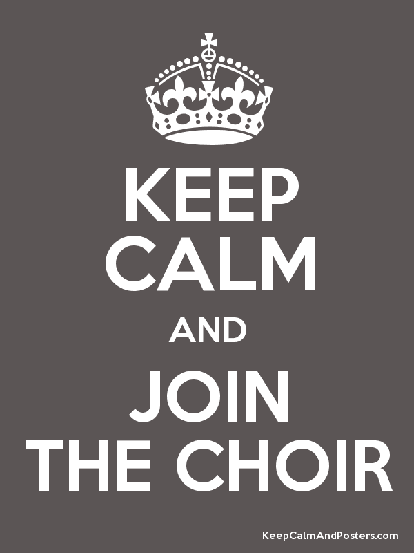 Image result for choir poster