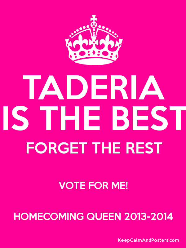 Vote Homecoming Queen Posters - WeSharePics