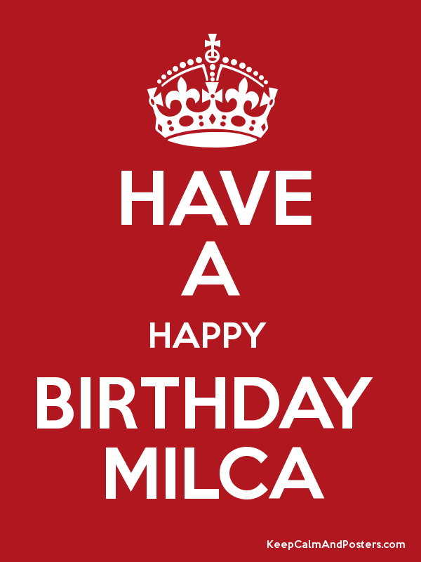 Image result for happy birthday milca