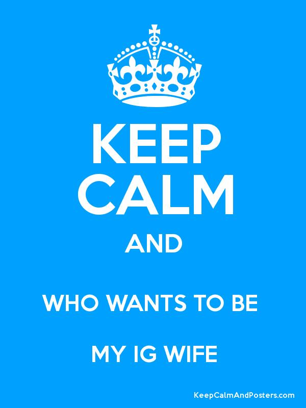 who wants my wife