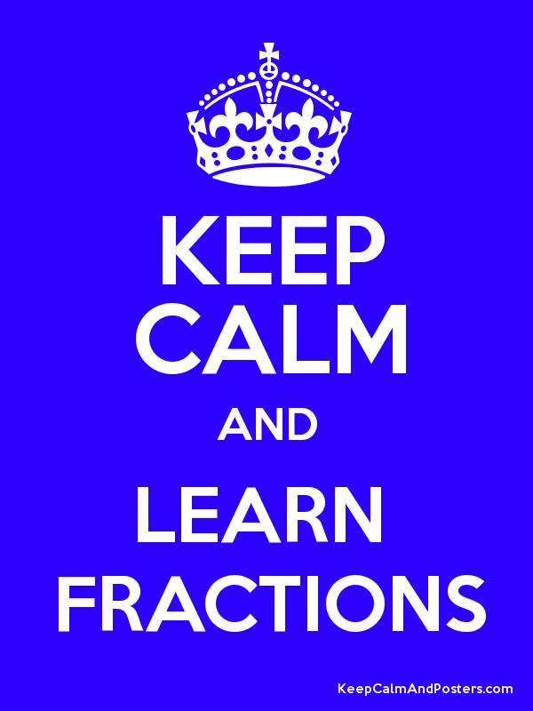 Image result for fractions keep calm