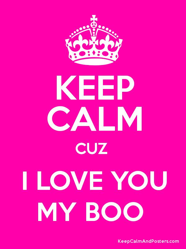 will you be my boo