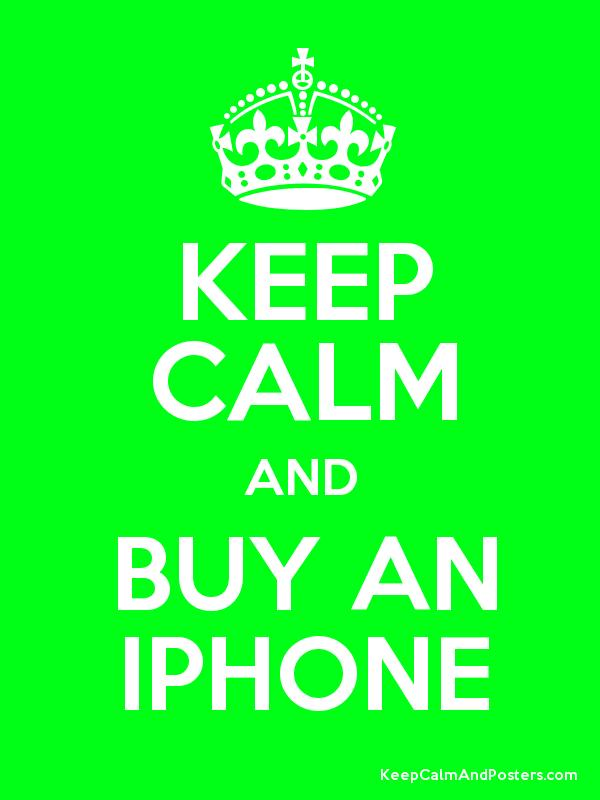 Keep calm and buy an iphone keep calm and posters for Buy cheap posters online