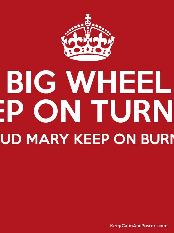 Wheels (Keep on Turning)