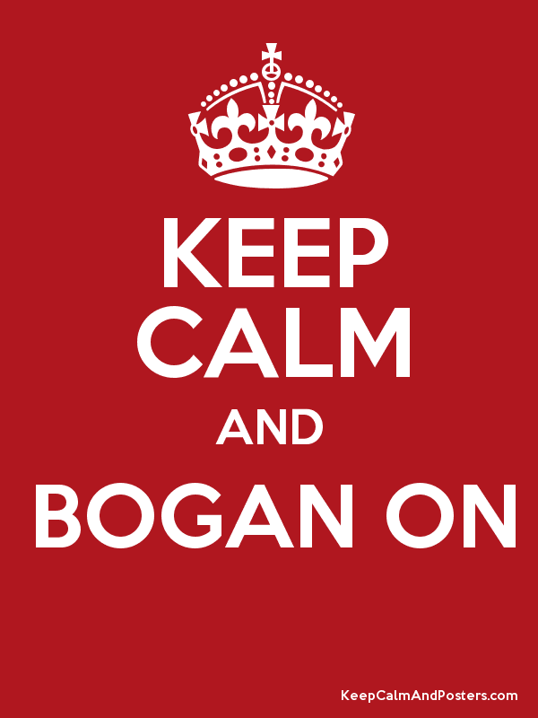 KEEP CALM AND BOGAN ON - Keep Calm and Posters Generator