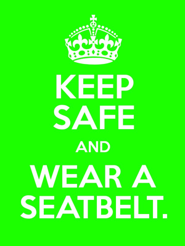 the different types of seatbelts to keep you safe