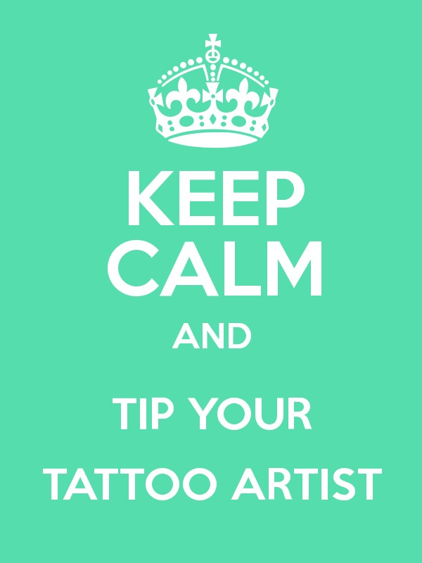 How much tip tattoo artist