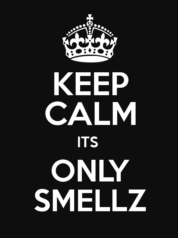 it only smellz