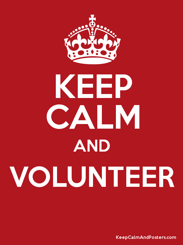 Image result for keep calm and volunteer