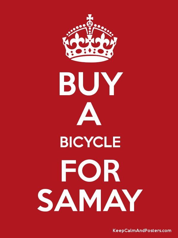 Buy a bicycle for samay keep calm and posters generator for Buy cheap posters online