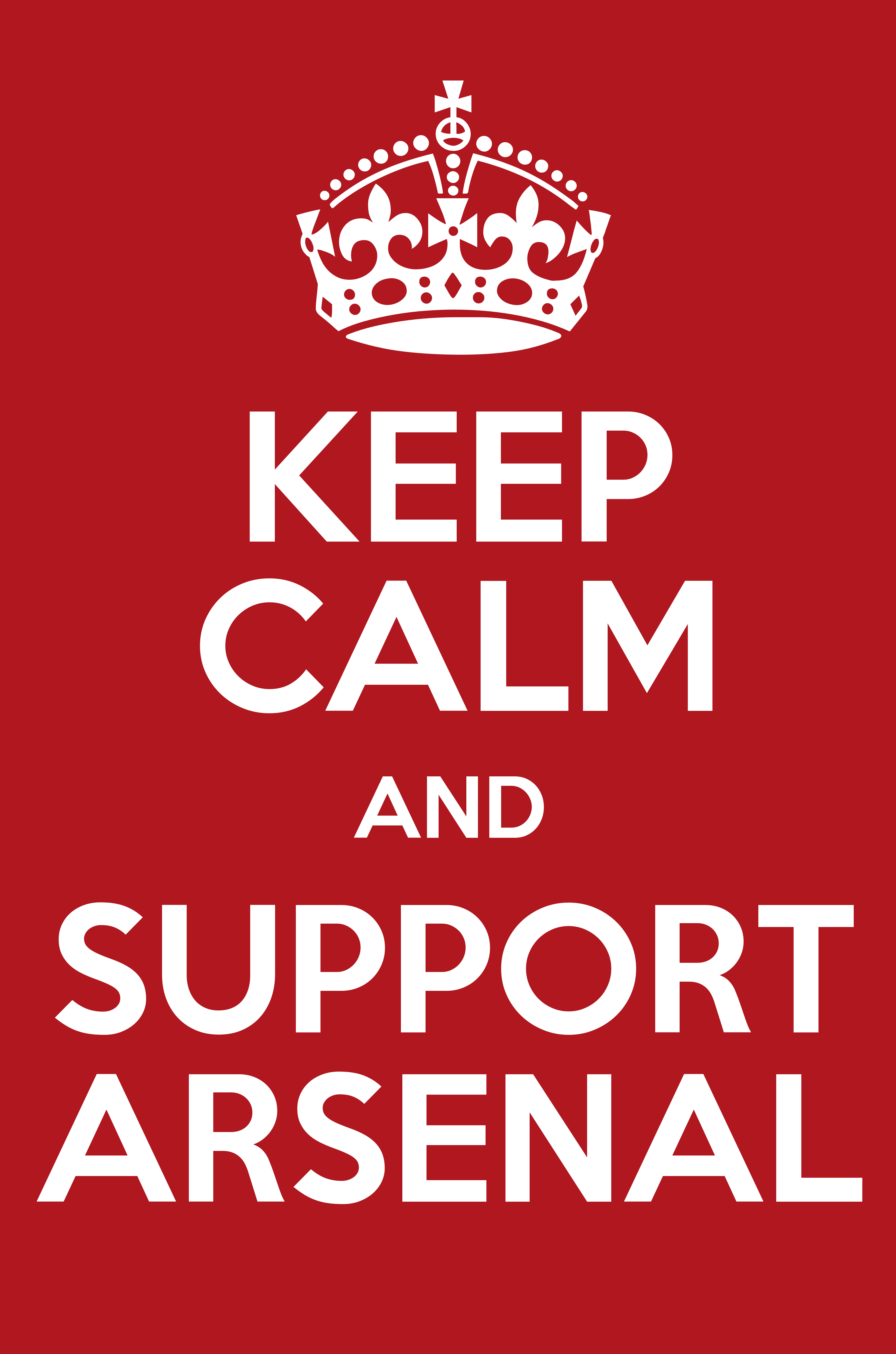 Keep calm and support arsenal keep calm and posters generator keep calm and support arsenal poster pronofoot35fo Gallery