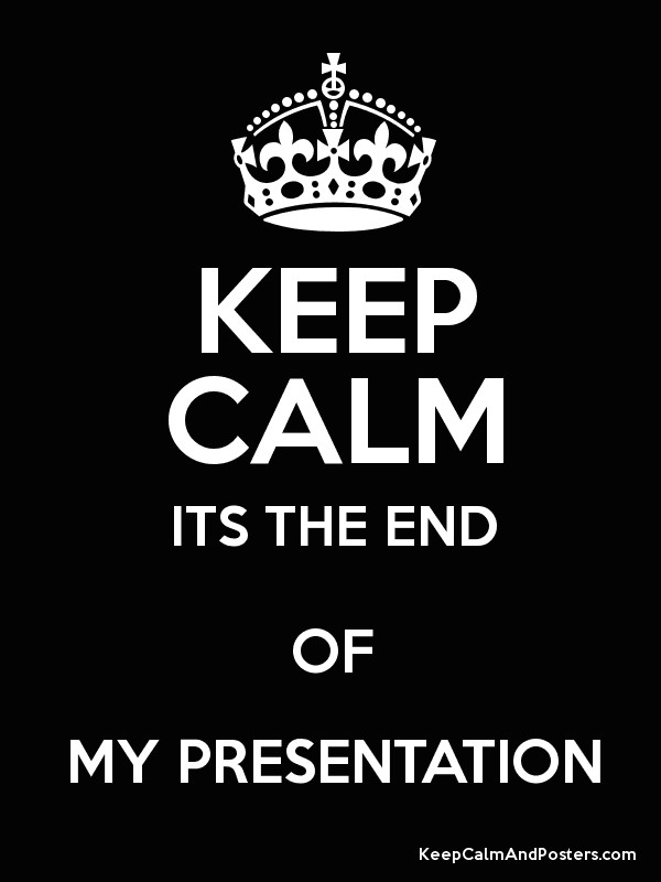 how to end a presentation in an exciting