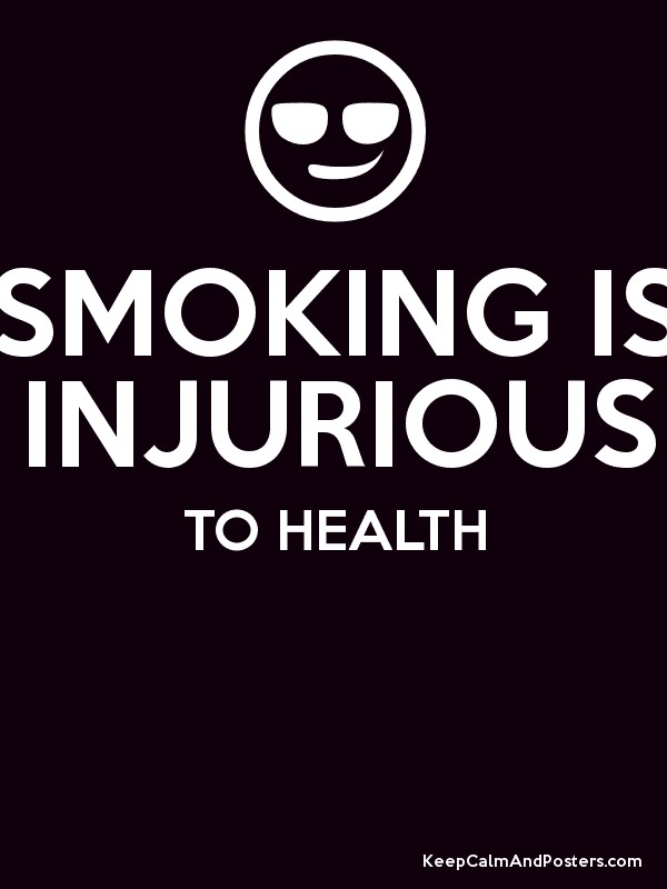 smoking is injurious to health essay Essay on smoking is bad for health every packet of cigarettes reveals the warning that smoking is extremely injurious to health.