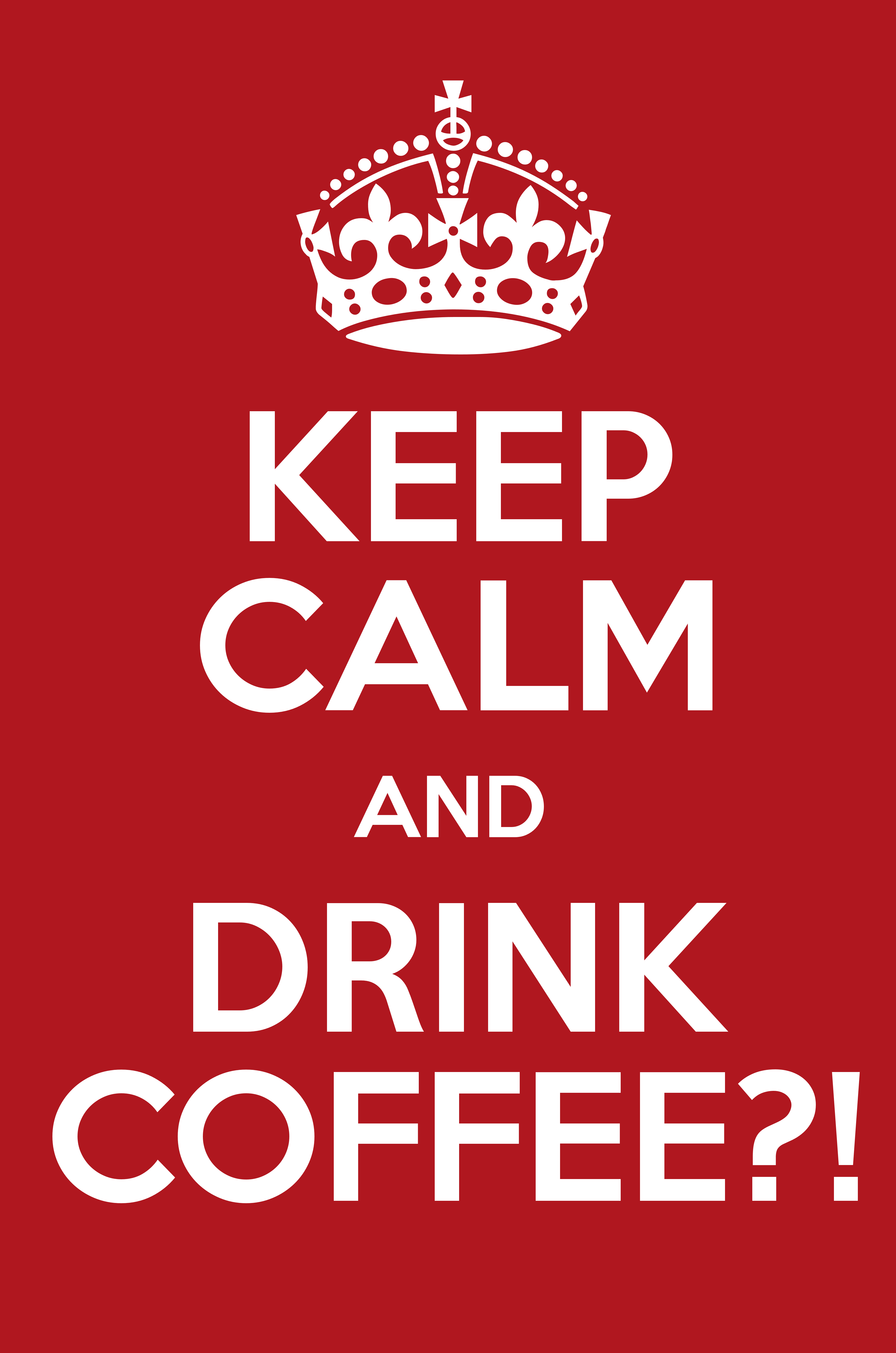 how to make coffee poster for work
