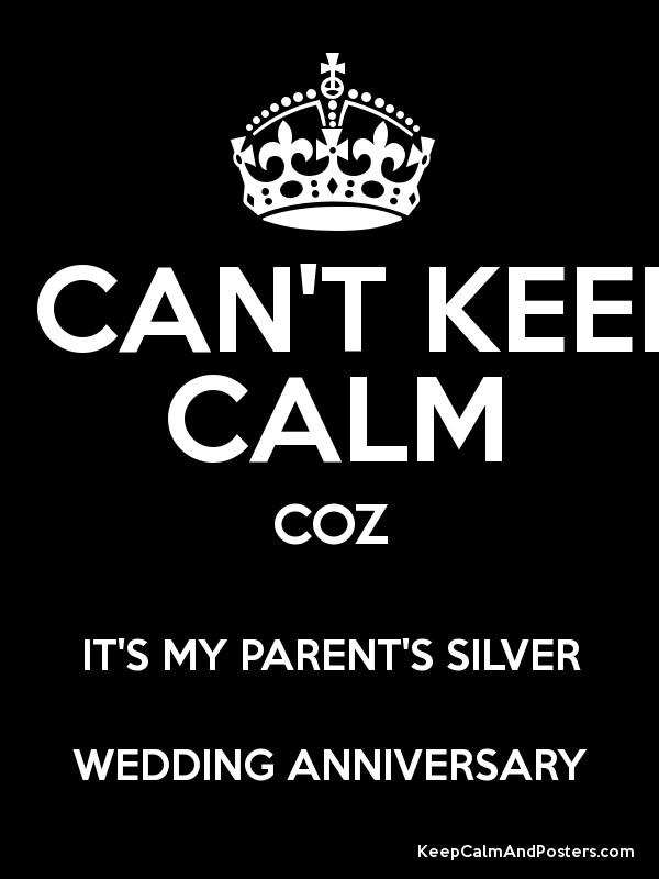 parent\\\\\\\\\\\\\\\'s 25th wedding anniversary