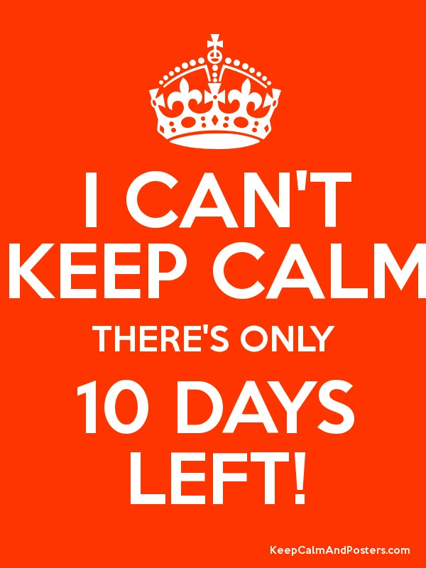 10 more days