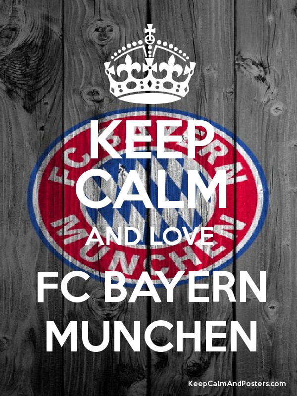 keep calm and love fc bayern munchen keep calm and posters generator maker for free. Black Bedroom Furniture Sets. Home Design Ideas
