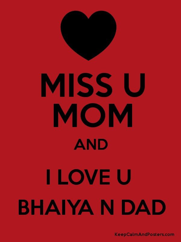 Wallpaper Love U Mom : Love u mom dad pic
