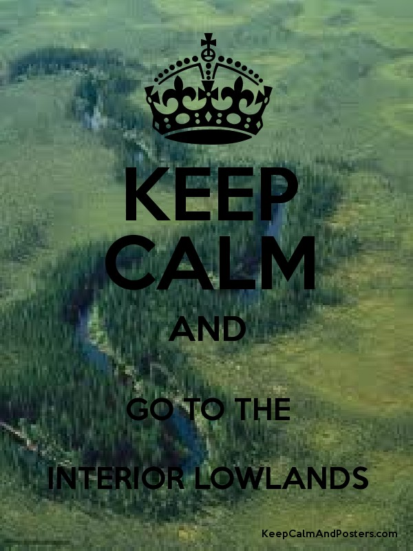 Superb KEEP CALM AND GO TO THE INTERIOR LOWLANDS Poster