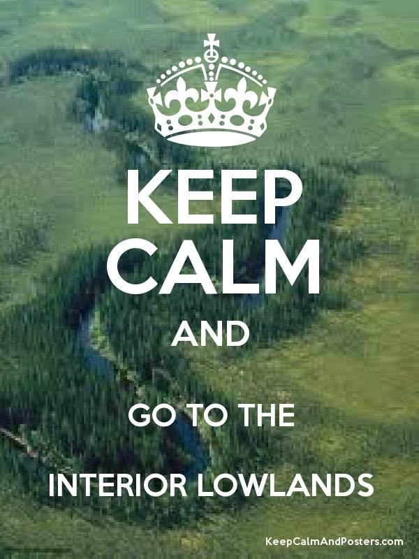 KEEP CALM AND GO TO THE INTERIOR LOWLANDS Poster