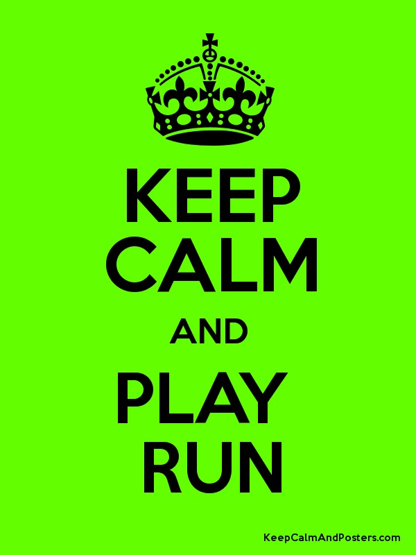 play and run
