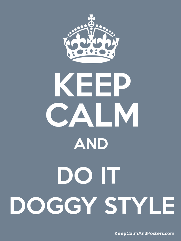 how to do the doggy style