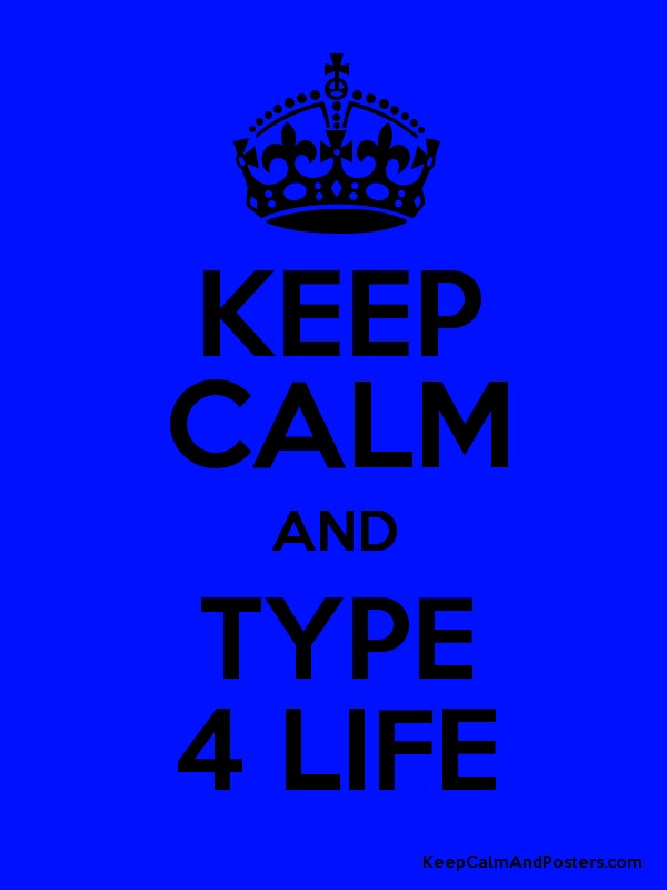 Keep calm and type 4 life keep calm and posters for Keep calm font download