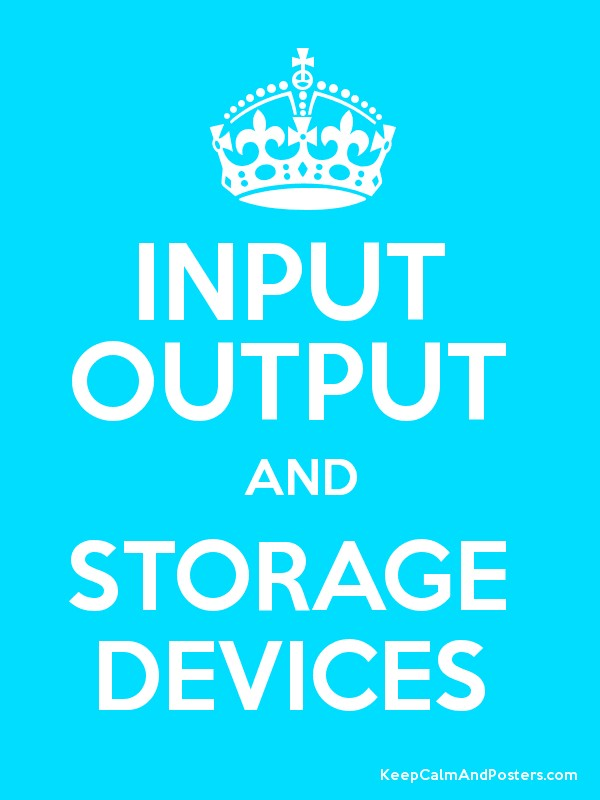 Input Output And Storage Devices Gpqet