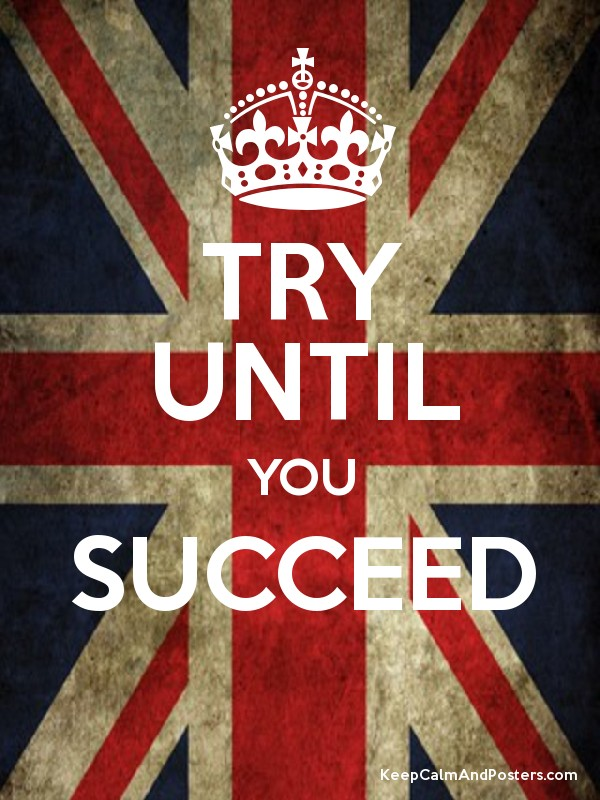 Try till you succeed essay