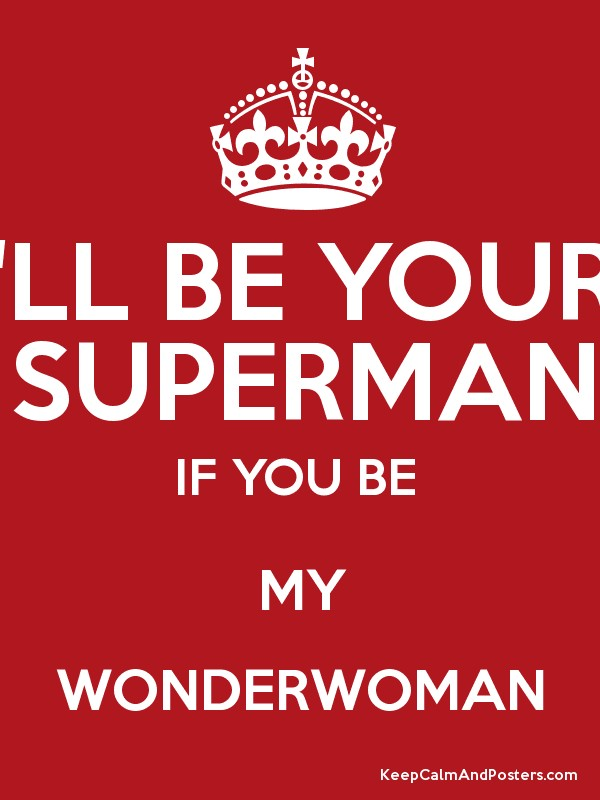 will you be my woman