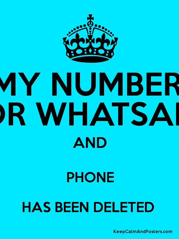 how to delete phone number from whatsapp