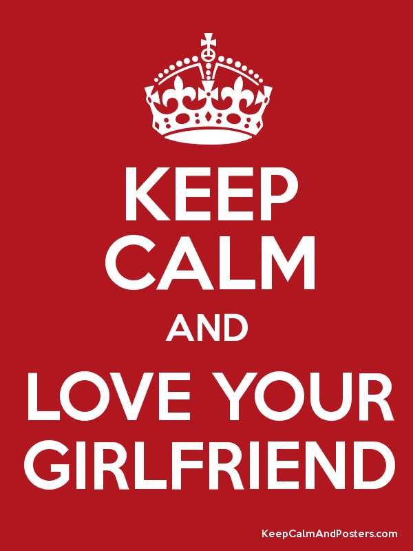 Keep Quiet And Love Your Girlfriend