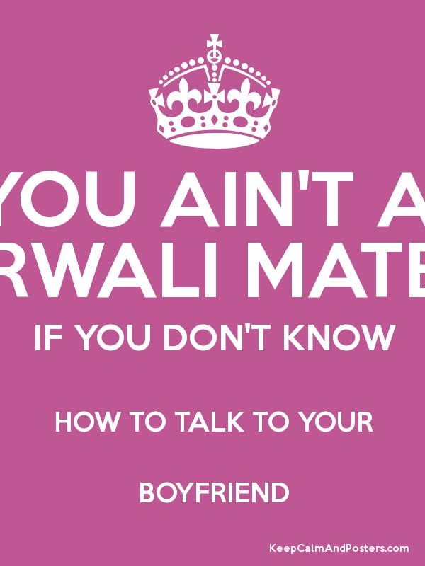 what to talk about with your boyfriend