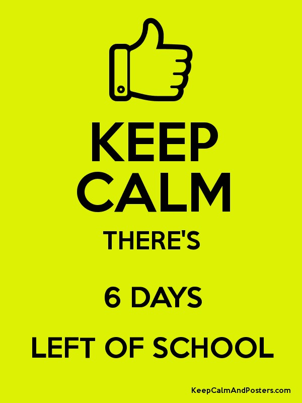 6 days left  once in a lifetime