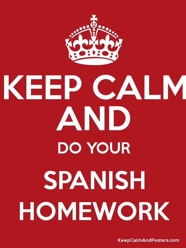 Want to Know More About Do My Spanish Homework?