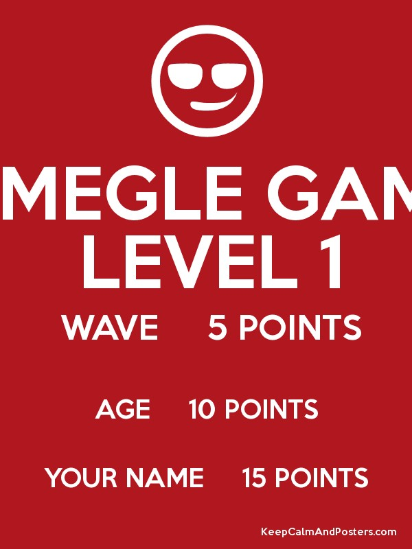 Omegle points game 3 4
