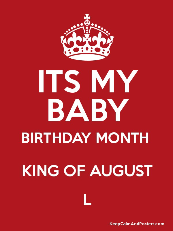 Its my baby birthday month images
