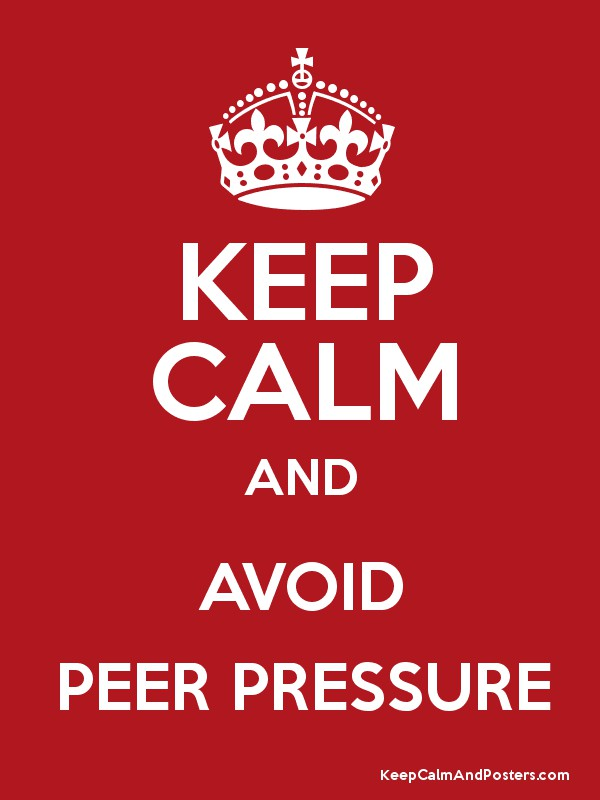 How to prevent peer pressure — photo 2