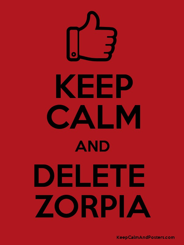how to delete your zorpia account