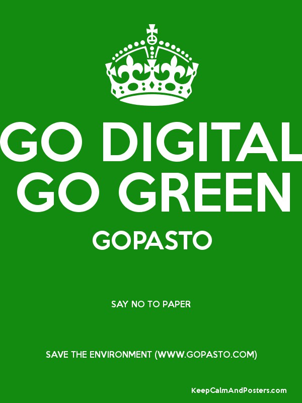 go green essays Read this essay on going green come browse our large digital warehouse of free sample essays get the knowledge you need in order to pass your classes and more only at termpaperwarehousecom.