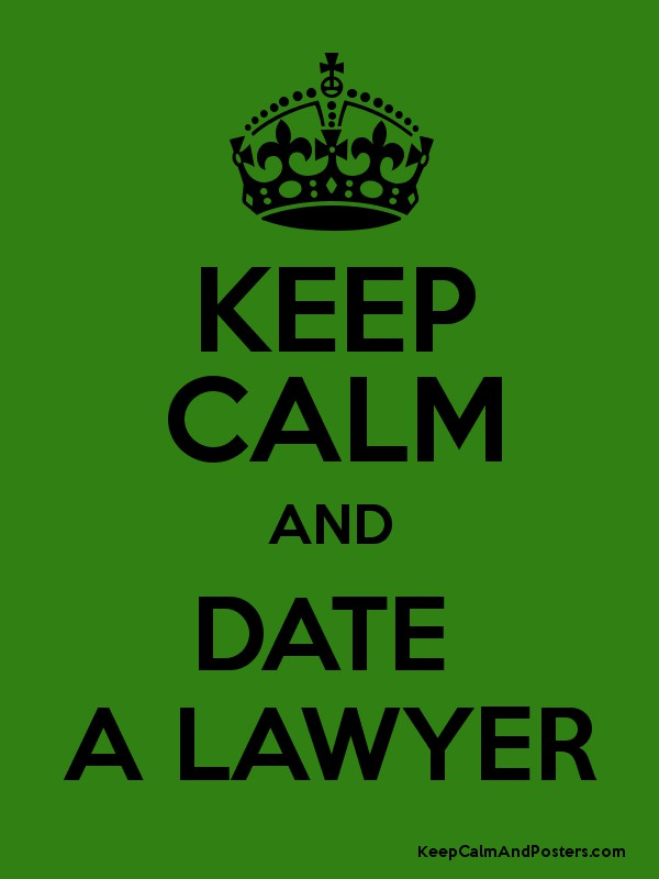 how to date a lawyer