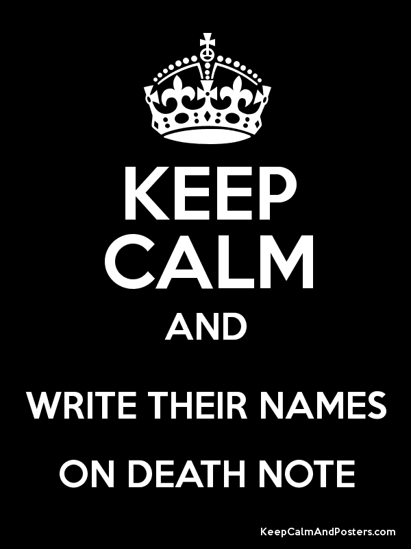 death note rules pdf download