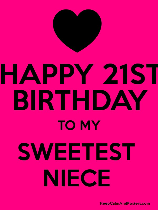 21st Birthday Images For Niece Images Hd Download