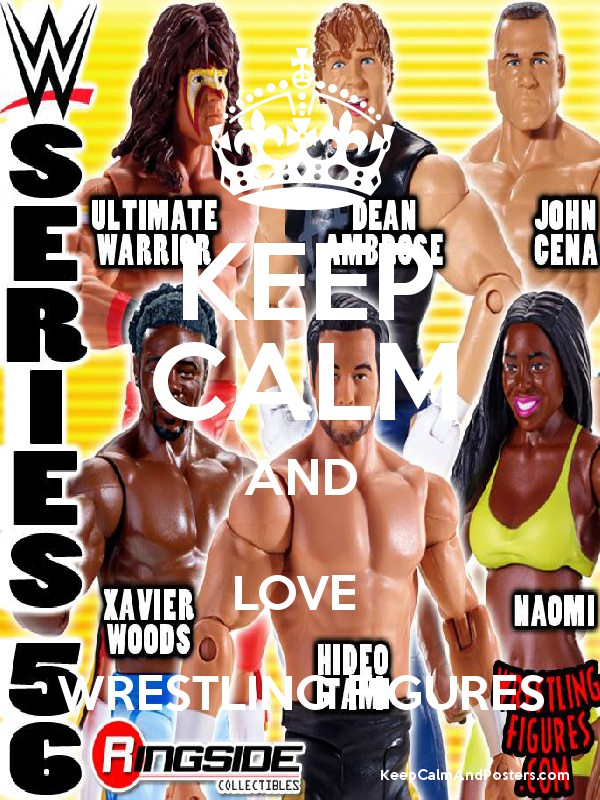 KEEP CALM AND LOVE WRESTLING FIGURES - Keep Calm and Posters